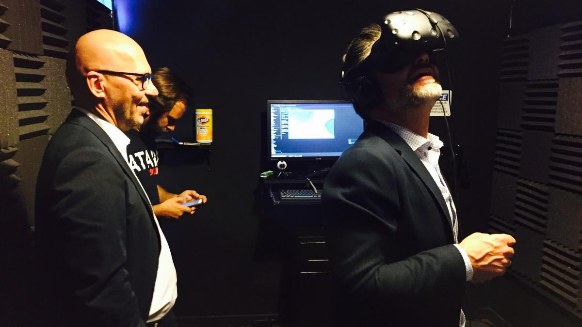 VR Upload: Virtuelle Weltenschaffen